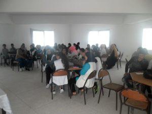 ثانوية عبد الله بن ياسين التأهيلية بالمديرية الإقليمية للتعليم بوزان تتنفس جرعة حقوقية