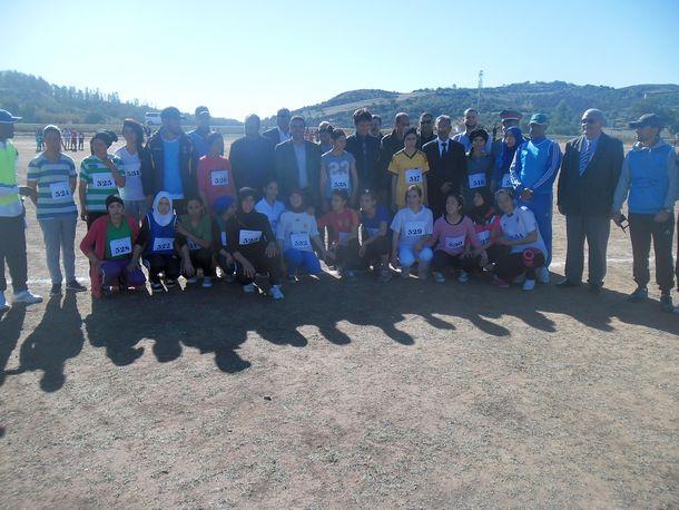 البطولة الإقليمية للعدو الريفي بالمديرية الإقليمية لوزارة التربية الوطنية بوزان برسم الموسم الدراسي 2016-2017