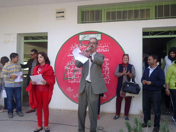 الأستاذ أسنو عمر يذكر بأهم المحطات التاريخية التي أفضت إلى إعلان المسيرة الخضراء