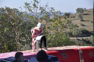 مجموعة مدارس قلعة بني روثن بجماعة عين بيضاء إقليم وزان تحتفل بذكرى عيد الاستقلال