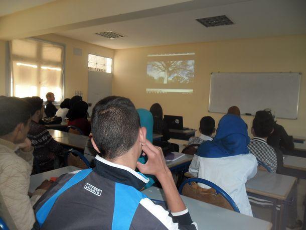 أفلام وثائقية تحسيسية بالتغيرات المناخية بالمؤسسات التعليمية بوزان لمواكبة الكوب 22