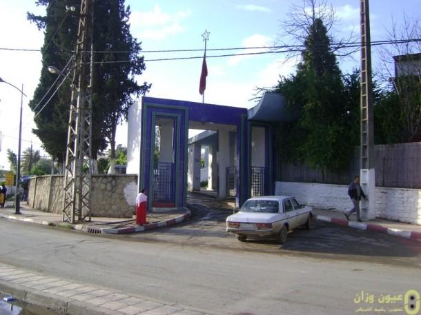 مدخل مستشفى أبو القاسم الزهراوي بوزان