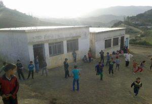 صورة لفرعية بوحيمل التابعة لمجموعة مدارس عبد الله الشفشاوني بدوار اعسارة جماعة زومي، المديرية الإقليمية وزان.