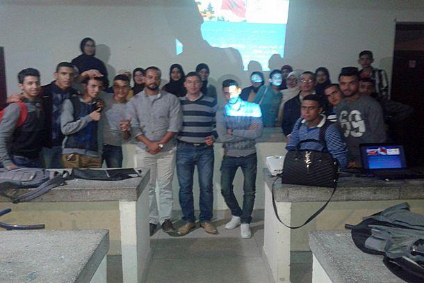 نادي التفوق الدراسي والرحلات بثانوية 3 مارس التأهيلية بجماعة سيدي رضوان يعرف بمؤتمر المناخ COP22