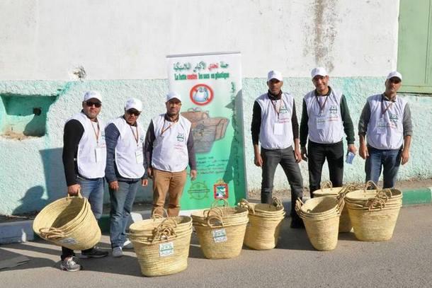 بعض أعضاء الجمعية خلال الحملة