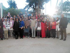 جمعية السيدة الحرة للمواطنة وتكافؤ الفرص في ضيافة تلميذات وتلاميذ ثانوية مولاي عبد الله الشريف التأهيلية بوزان