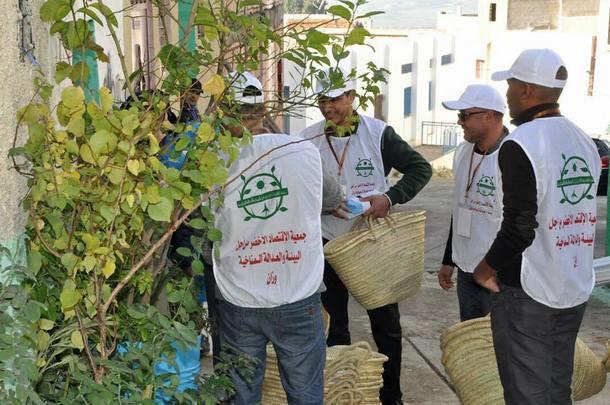 انطلاق حملة بديل إيكولوجي للأكياس البلاستيكية بأحياء مدينة وزان