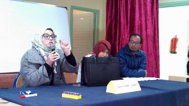 ثانوية سيدي بوصبر التأهيلية بإقليم وزان تخلد اليوم العالمي لمحاربة داء السيدا