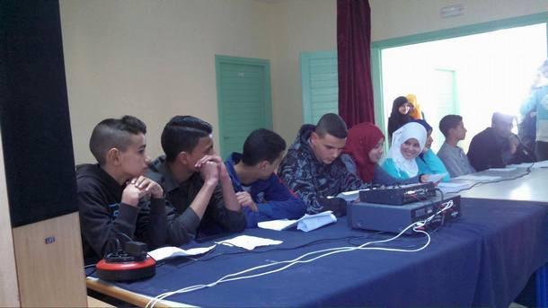 ثانوية سيدي بوصبر التأهيلية بإقليم وزان تنظم أمسية ثقافية وفنية