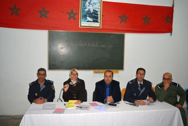 أطر تربوية وإدارية وتلاميذ المؤسسات التعليمية بالمديرية الإقليمية لوزان تنخرط إلى جانب فعاليات مدنية في تنزيل برنامج تأهيلي بالمؤسسة السجنية بوزان