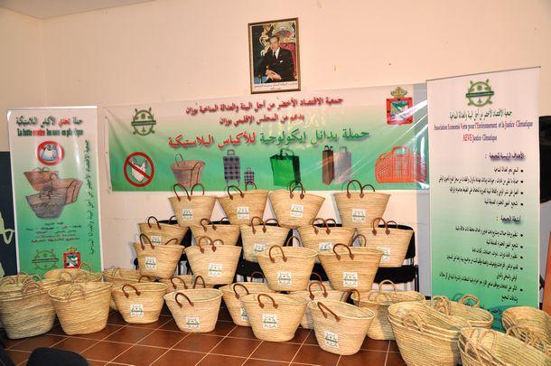 جمعية الاقتصاد الأخضر من أجل البيئة والعدالة المناخية بوزان تستعد لتوزيع أكياس إيكولوجية