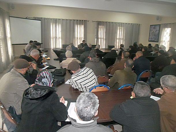 لقاءات تواصلية تنسيقية للتقاسم مع مديرات ومديري المؤسسات التعليمية بالمديرية الإقليمية لوزان