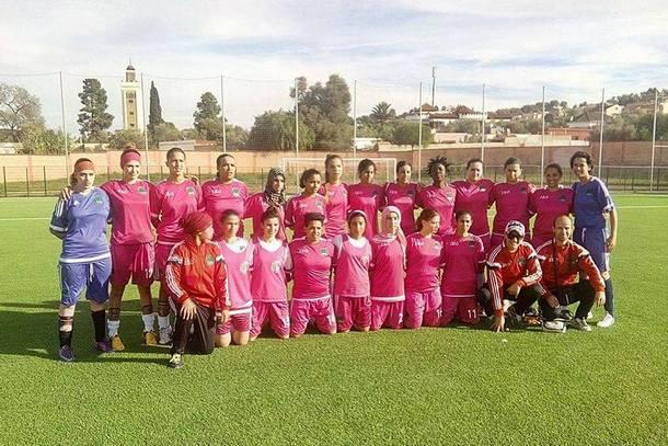 فريق شابات أمل وزان لكرة القدم النسوية