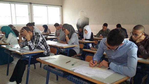 أجواء الامتحان الموحد المحلي لنيل شهادة السلك الإعدادي بالثانوية التأهيلية مولاي عبد الله الشريف بوزان