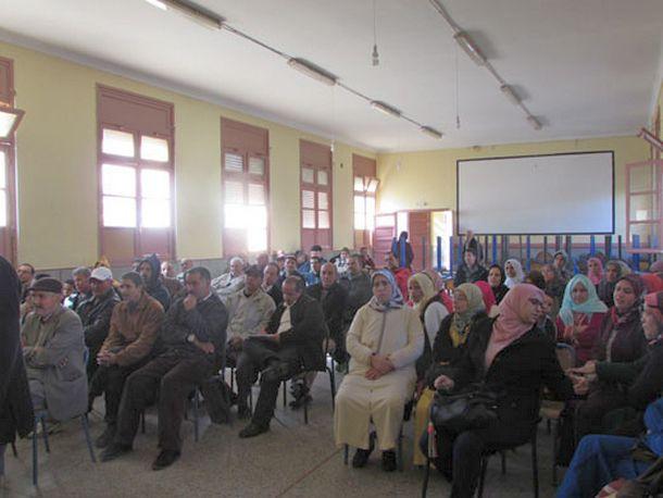 جانب ممن حضر الجمع العام