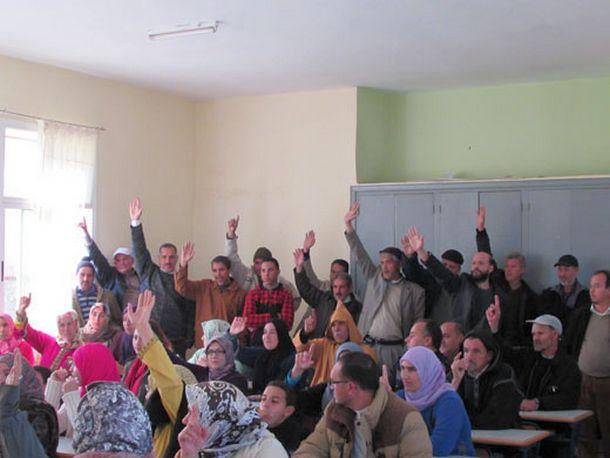 تجديد مكتب جمعية آباء وأمهات وأولياء تلاميذ الثانوية التأهيلية مولاي عبد الله الشريف بوزان