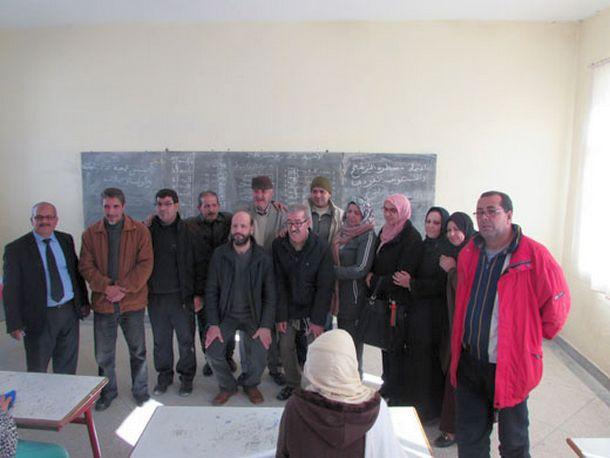 صورة جماعية لأعضاء المكتب
