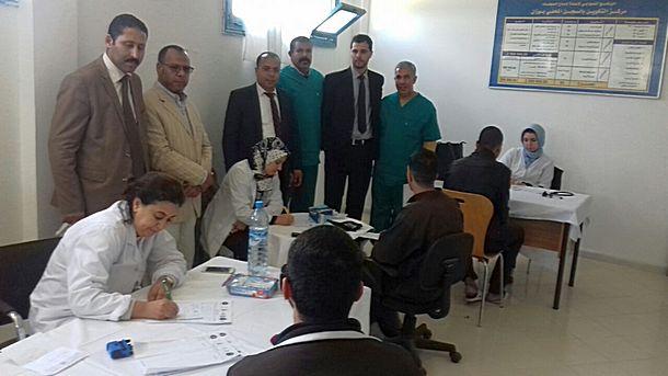 تنظيم قافلة طبية لفائدة نزيلات ونزلاء المؤسسة السجنية بوزان