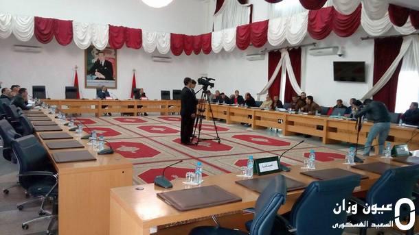 جانب من الدورة الاستثنائية للمجلس الإقليمي لوزان