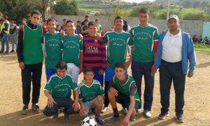 الثانوية الإعدادية عمر بن عبد العزيز بتروال إقليم وزان تنظم بطولة في كرة القدم المصغرة