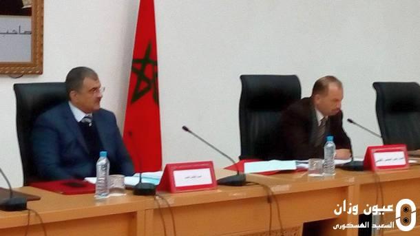 العربي المحرشي، رئيس المجلس الإقليمي لوزان