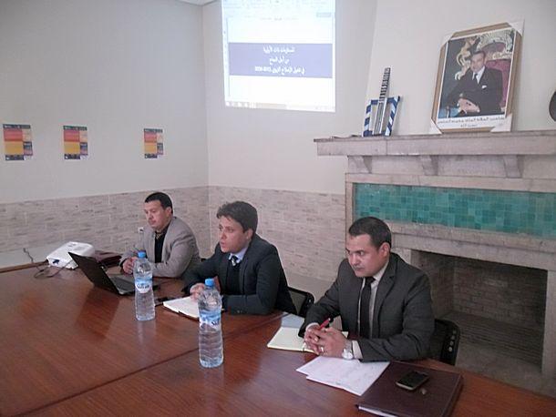المديرية الإقليمية لوزارة التربية الوطنية والتكوين المهني بوزان في لقاءات تنسيقية لتنزيل الرؤية الاستراتيجية 2015-2030
