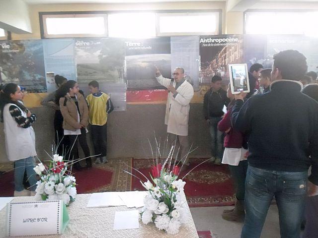 حفل افتتاح معرض حول التربية على التغيرات المناخية بوزان