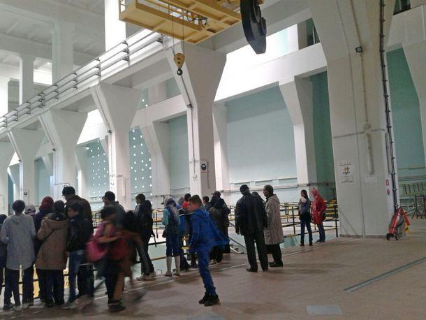 مجموعة مدارس عين دريج بجماعة لمجاعرة تنظم زيارة استكشافية لمنشأة سد الوحدة