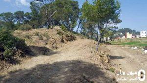 المجتمع المدني بمقريصات إقليم وزان ينظم حملة تنظيف مقبرة مقريصات