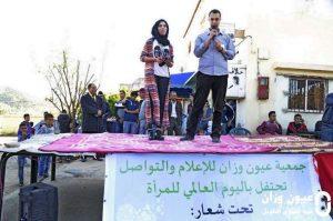عبد الهادي اطويل، رئيس جمعية عيون وزان خلال كلمته