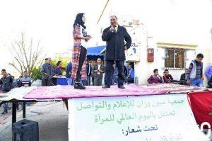 عبد الواحد صوفي، مدير مجموعة مدارس قلعة بني روثن خلال كلمته.