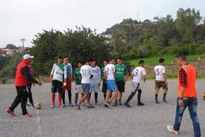 ثانوية عمر الخيام التأهيلية بتروال إقليم وزان تنظم دوري الأقسام في كرة القدم