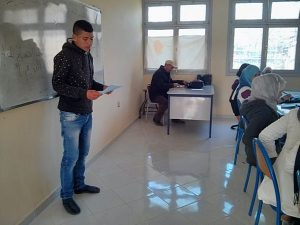 نادي القراءة بثانوية علال الفاسي التأهيلية بابريكشة إقليم وزان ينظم ورشة تعليمية