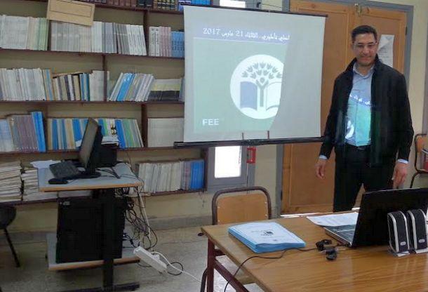 المنسق الإقليمي لبرامج التربية البيئية والتنمية المستدامة بالمديرية