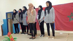 بثانوية علال الفاسي التأهيلية بابريكشة إقليم وزان تخلد اليوم العالمي للمرأة