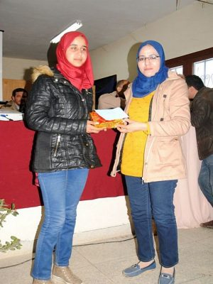 ثانوية 3 مارس التأهيلية بسيدي رضوان إقليم وزان تحتفي بالأوائل