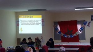 ثانوية مصمودة التأهيلية بإقليم وزان تنظم أمسية ثقافية فنية حول موضوع السلامة الطرقية
