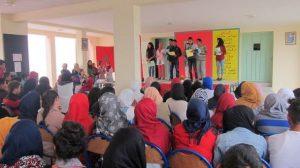 ثانوية مصمودة التأهيلية بمصمودة إقليم وزان تنظم أمسية ثقافية فنية بمناسبة اليوم العالمي للمرأة