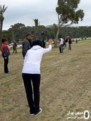 نادي الوفاق للكرة الحديدية والنادي الرياضي للثانوية التأهيليلة بمقريصات يشاركان في دوري للكرة الحديدة بطنجة