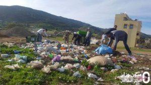 حملة تحسيسية بأهمية النظافة بمقريصات إقليم وزان