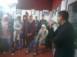 ثانوية محمد الخامس التأهيلية بزومي إقليم وزان في زيارة استكشافية لإذاعة طنجة