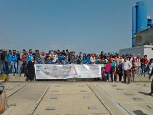 """المؤسسات التعليمية المشاركة في مشروع """"زيارة 1000 تلميذة وتلميذ لمنشأة سد الوحدة"""""""