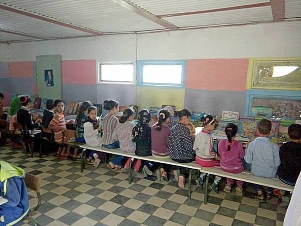 معرض للكتاب يحل بمجموعة مدارس بني مالك بجماعة مصمودة