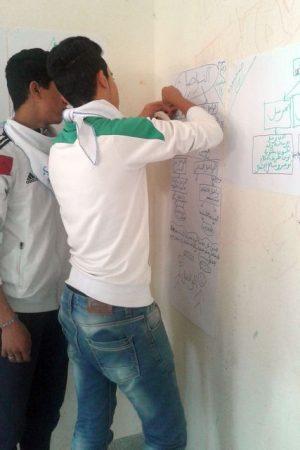 النادي الصحي بثانوية 3 مارس التأهيلية بسيدي رضوان ينظم ورشا تكوينيا