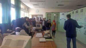 القسم الداخلي بثانوية خالد بن الوليد الإعدادية بسيدي رضوان ينظم رحلة إلى منشأة سد الوحدة