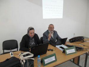 الأساتذة الموظفون بموجب عقود التابعين للمديرية الإقليمية بوزان في دورة تكوينية ثالثة أيام 10-11-12 أبريل 2017