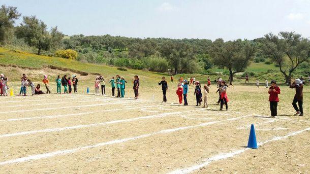 جانب من الأنشطة المنظمة بالمخيم