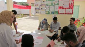 """ثانوية مصمودة التأهيلية تنظم النسخة الثانية من الأيام الربيعية تحت شعار """"جميعا من أجل مدرسة مبدعة ومعطاءة"""""""