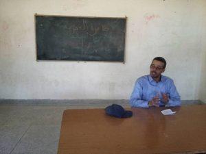 الأستاذ إبراهيم بلعافية