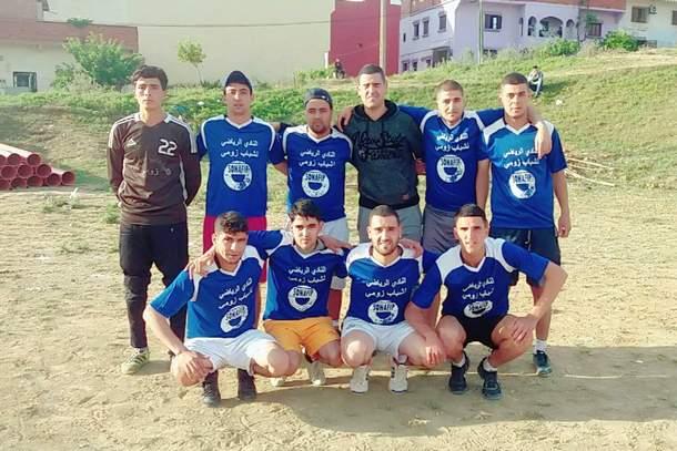 فريق النادي الرياضي لشباب زومي